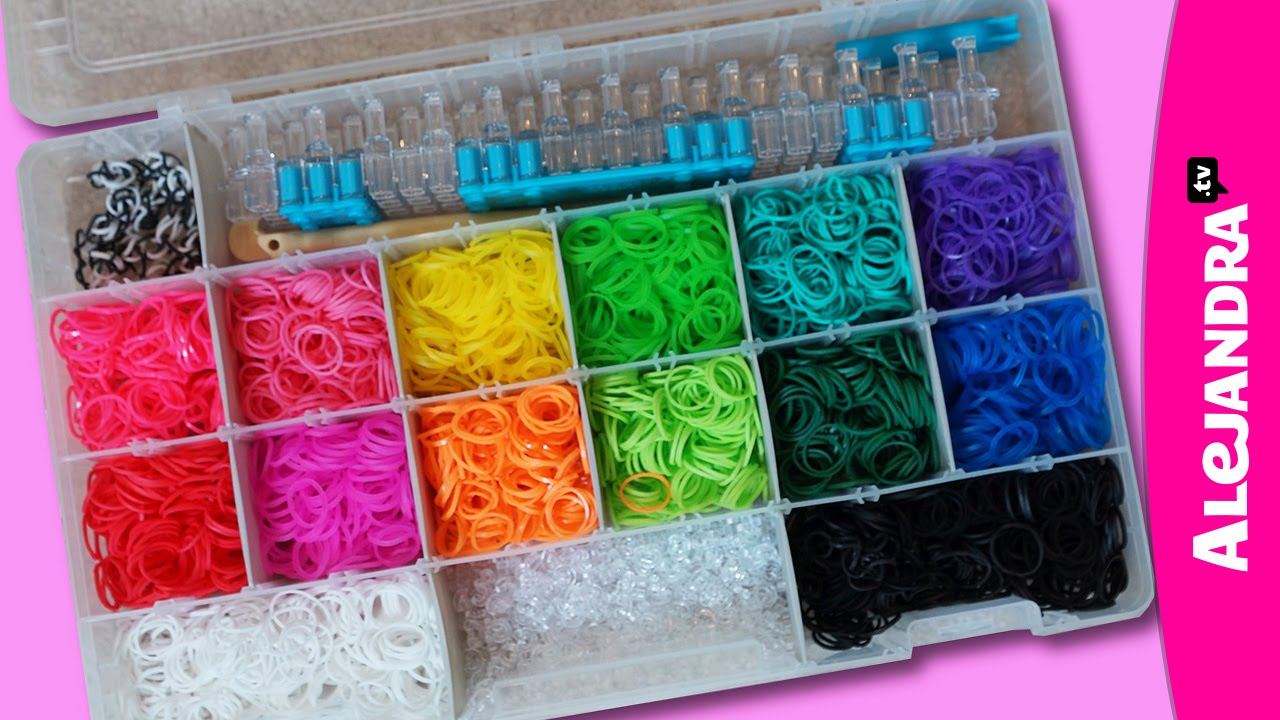 How To Store Rainbow Loom Rubber Bands Youtube