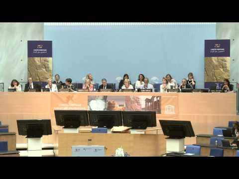 World Heritage - 39th World Heritage Committee 2015-07-02 9:30-13:00