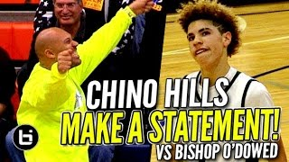 Chino Hills Makes a STATEMENT In Win vs Bisho...