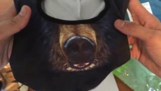 Балаклавы с 3D принтами животных Video