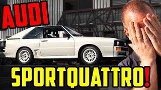 Audi Tradition zu BESUCH! - Audi SPORTQUATTRO! - Marco darf FAHREN!