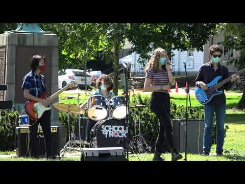 Jimi Hendrix Purple Haze Cover by the Bedford School of Rock House Band