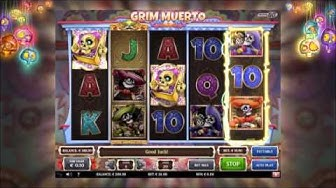 Online slot Grim Muerto now at Unibet