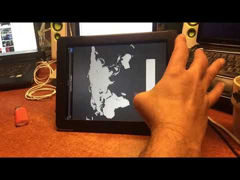 IPAD ONE  - 32GB -  IOS 5.11 - FULL SHOW : ROOT & MOD Upgrade to IOS 8 MUSIC REC  MACHINE
