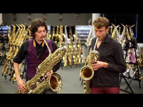 Baritone & Bass Saxophone Duet