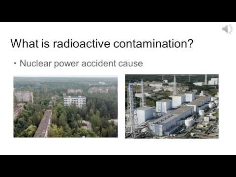 Japanese radioactive contamination pptx