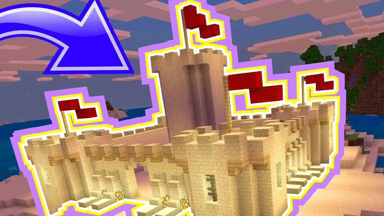 How to Build Epic Sand Castles in Minecraft