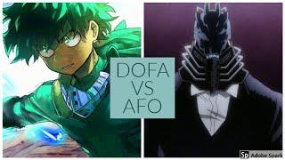 DOFA VS AFO Boku No Roblox: Remastered