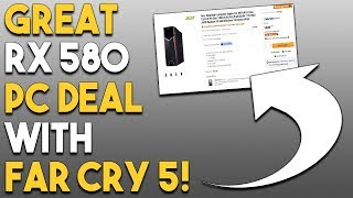GREAT RX 580 PC Deal With Free Far Cry 5! BIG PC RPG Coming NEXT Month!