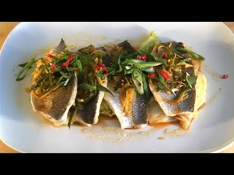 How To Cook Sea Bass In Soy With Ginger