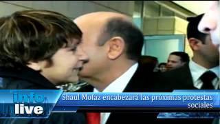 Shaul Mofaz encabezará las próximas protestas sociales