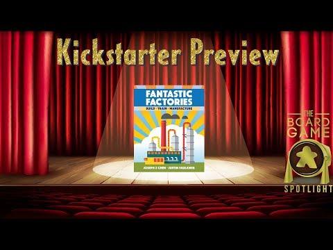Fantastic Factories - Board Game Spotlight