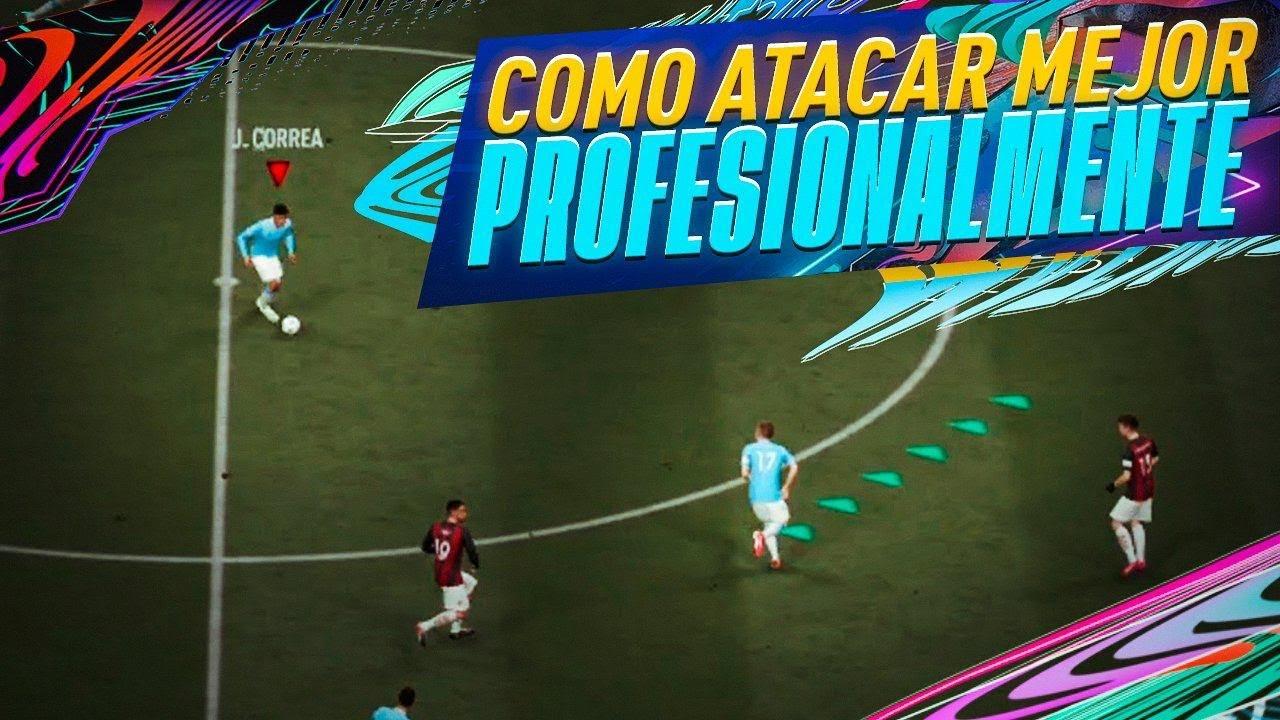 FIFA 21 Como Atacar Mejor Profesionalmente TUTORIAL #1 Nuevos Desmarques Manuales Para Atacar Mejor