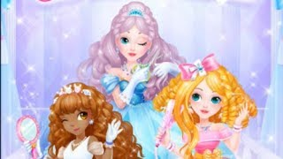 Sweet Princess Hair Salon best gameplay with awesome angels for kids screenshot 2