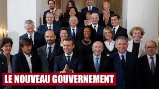 Le Tour de l'info : Les nouveaux ministres du gouvernement Philippe / Macron