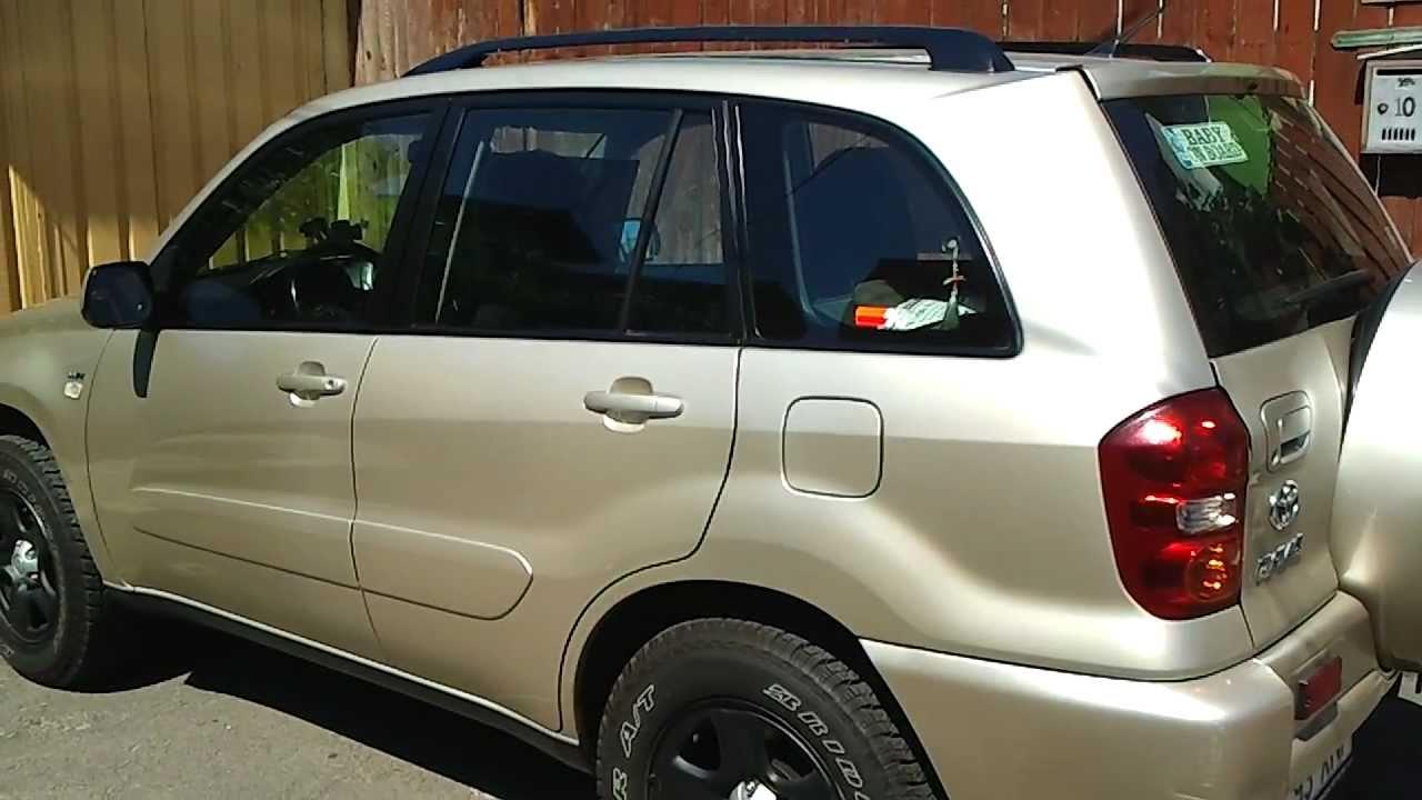 Toyota Rav4 2004 - YouTube