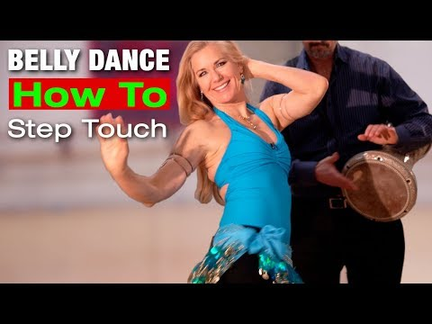 How to Belly Dance STEP TOUCH - Jensuya Belly Dance