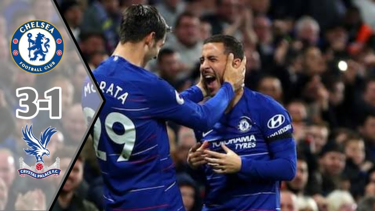Download Goal & Highlight || CHELSEA Vs CRYSTAL PALACE 3-1 || 04-11-2018