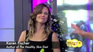 The 8-Week Healthy Skin Diet Book by Karen Fischer