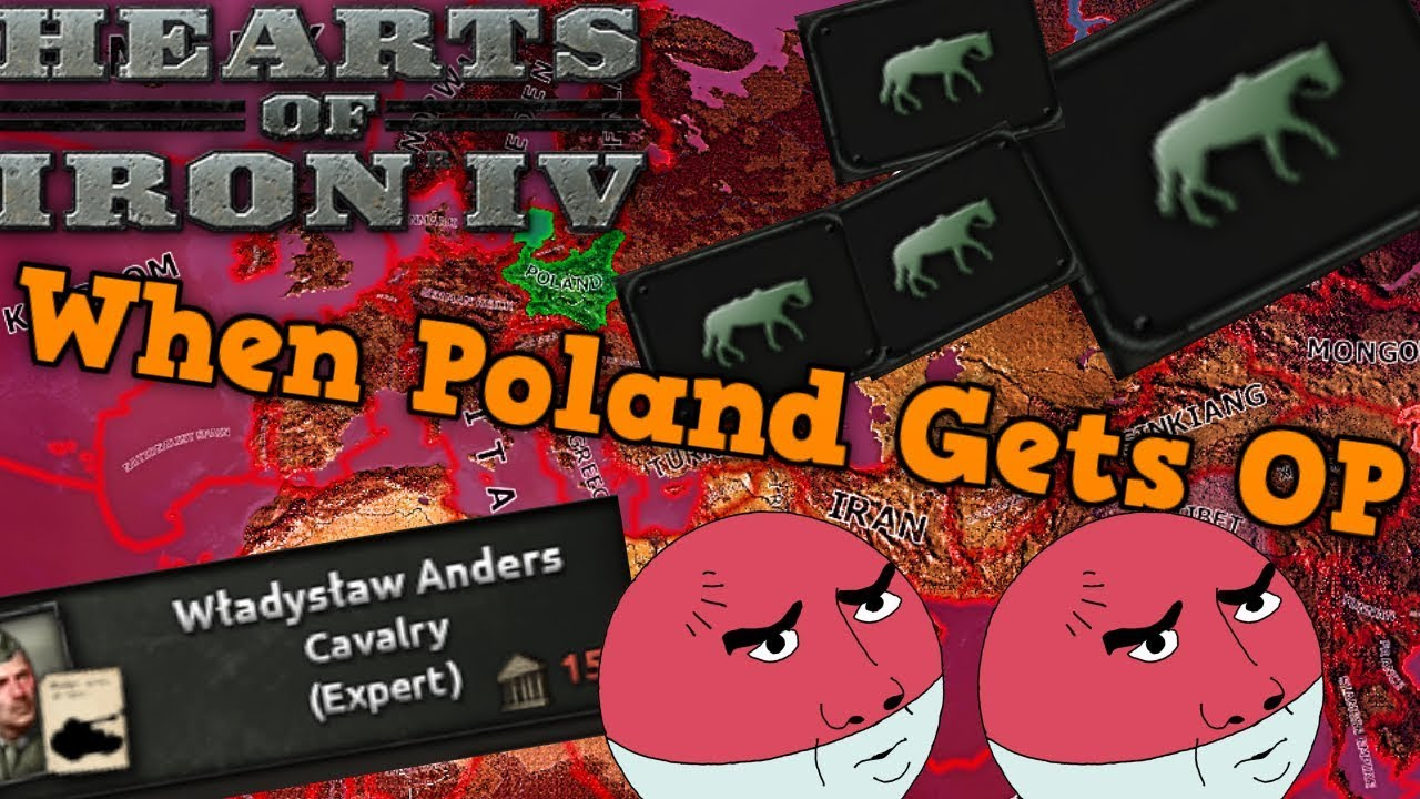 HOI4- WHEN POLAND UNLOCKS THE WINGED HUSSARS - Hearts Of Iron 4 OP nation
