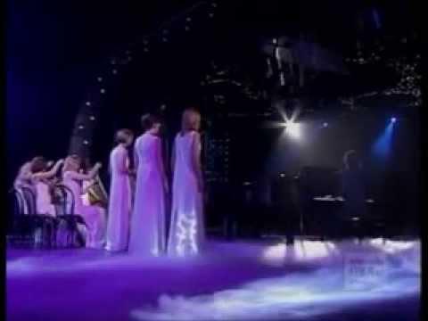 Enya - Only Time - live (lyrics on screen)