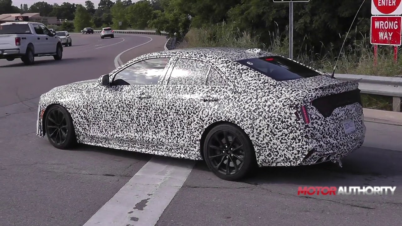 2020 Cadillac Ct4 V And Ct5 V Blackwing Spy Video