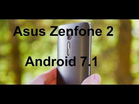 Устанавливаем Android 7.1 на Asus Zenfone 2/Лучшая прошивка