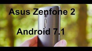 Встановлюємо Android 7.1 на Asus Zenfone 2/Краща прошивка