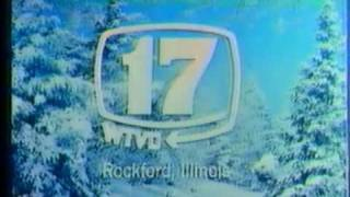 "WTVO Channel 17 - ""Snow Scene"" (Station ID, 1976)"