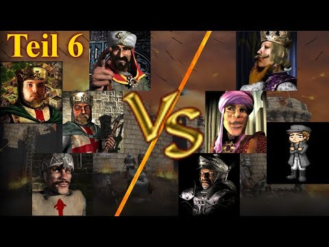 KI Kommando - Runde 1 - Teil 6 | Stronghold Crusader KI Kämpfe