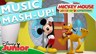 🎤 Hot Dog Dance Mash-Up | Mickey Mouse Mixed-Up Adventures | Disney Junior UK