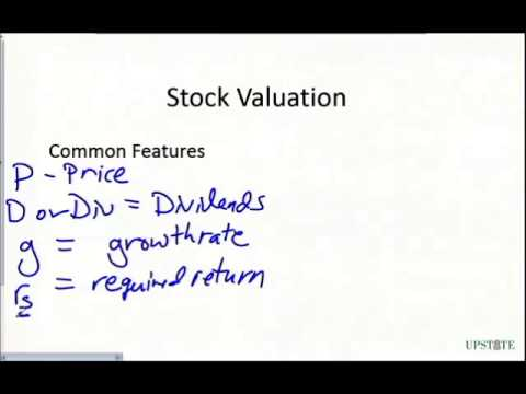 Intro to Common Stock