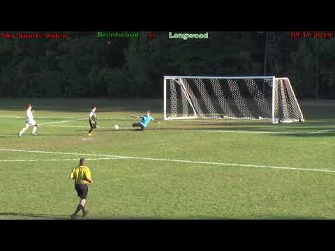 2019 Goal! Brentwood Varsity scores on a breakaway vs Longwood High School