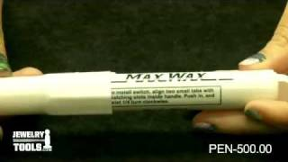 PEN-500.00 - Max Wax Pens, 6-3/4 Inch - Jewelry Tools Demo