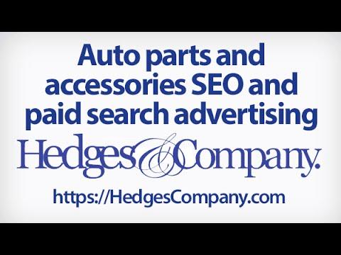 Auto Parts SEO and PPC