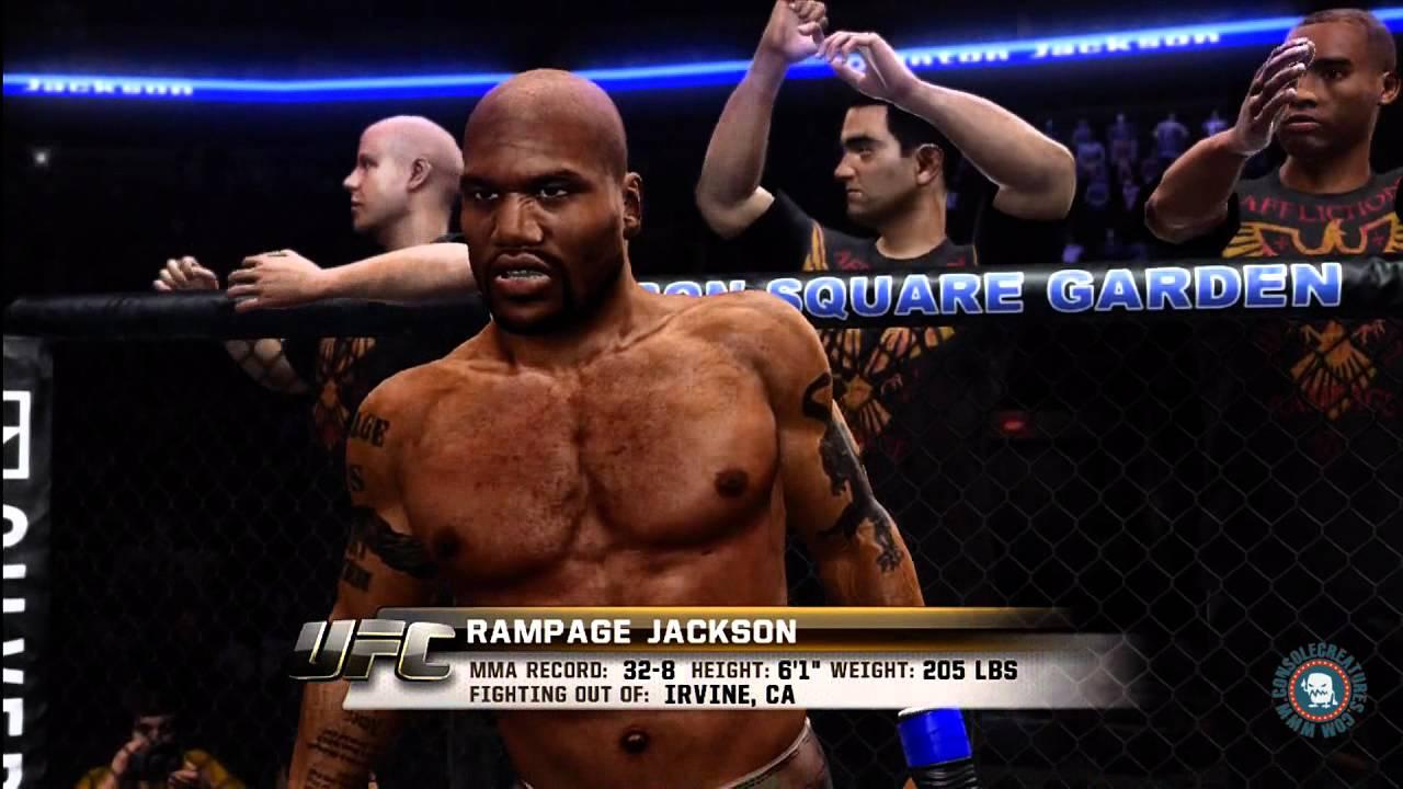 Ufc Undisputed 3 Jon Jones Vs Rampage Jackson Gameplay Youtube