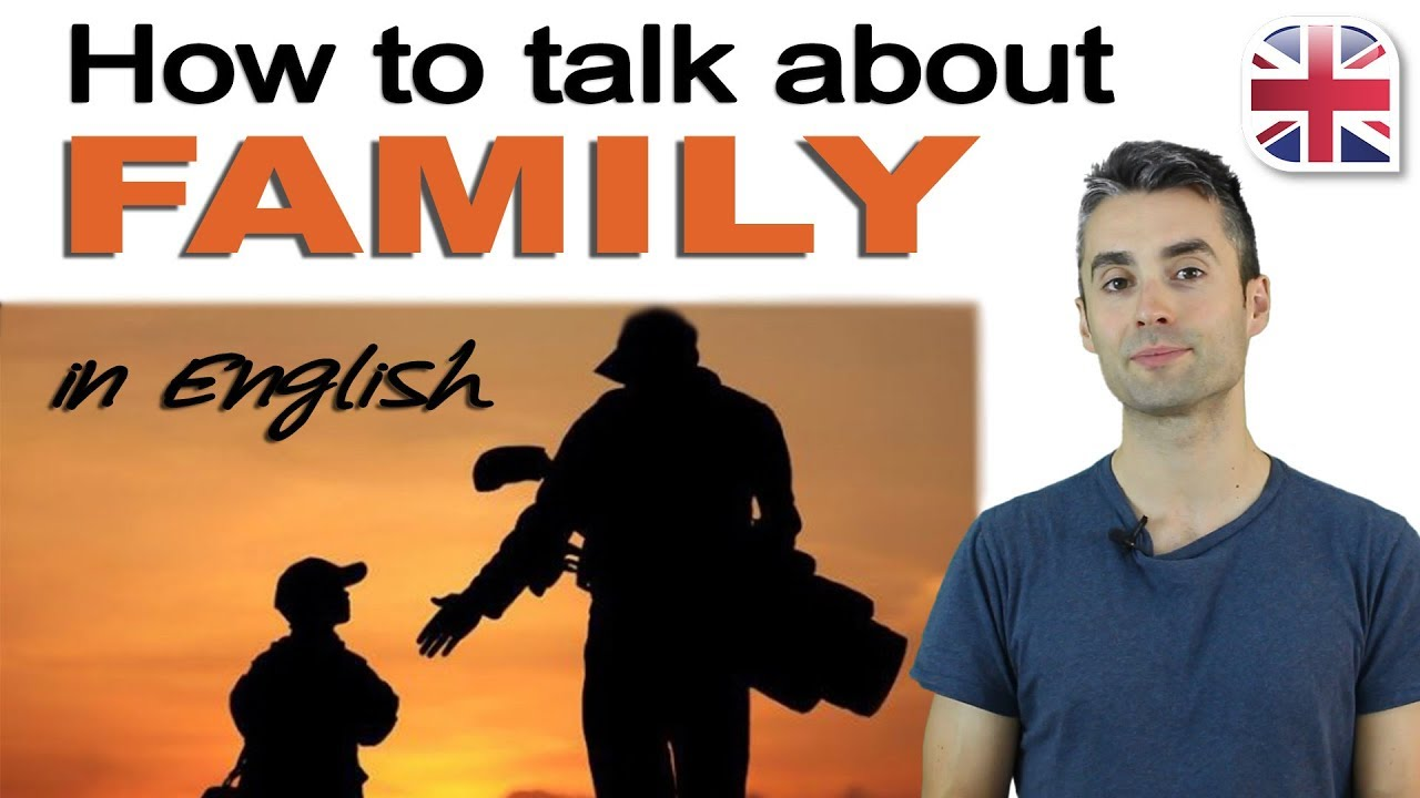 talking about your family in english spoken english lesson youtube