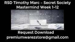 RSD Timothy Marc - Secret Society Mastermind Download Torrent [$4999]