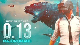 PUBG MOBILE LIVE 0.13 UPDATE AA GYA FRANDS NEW BUGS AND GLITCHES ARE HERE