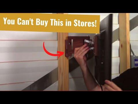 Build a Flat Screen TV Wall Mount
