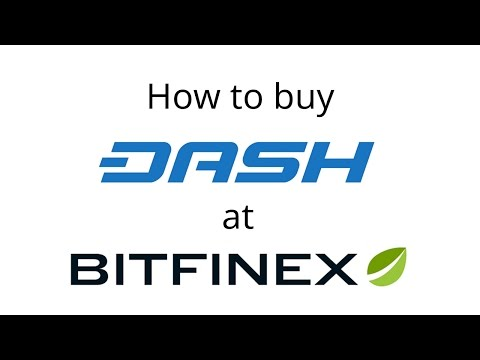 Buy Dash on Bitfinex