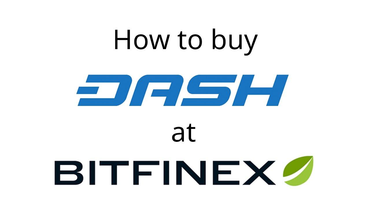 Buy Dash On Bitfinex