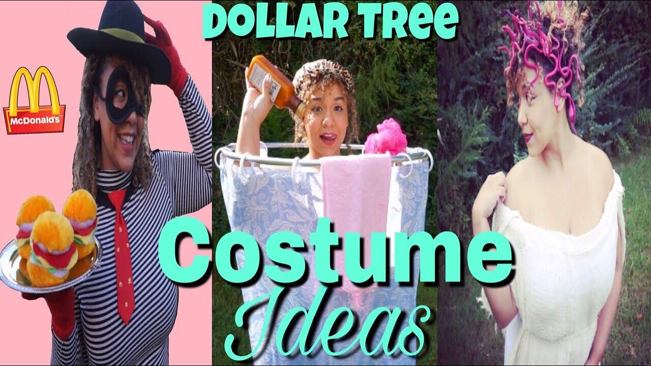 Dollar Tree Diy Halloween Costume Ideas Dollar Tree Costume Challenge