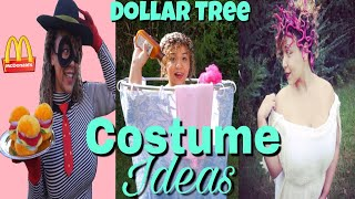 Dollar Tree DIY Halloween Costume Ideas | Dollar Tree Costume Challenge