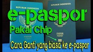 Cara Ganti Paspor Biasa Ke E-Paspor, Ini Beda Paspor Biasa Dan E-Passpor