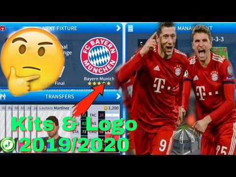 Dream League Soccer 2019 How To Import FC Bayern Munich Team Kits & Logo  2019/2020