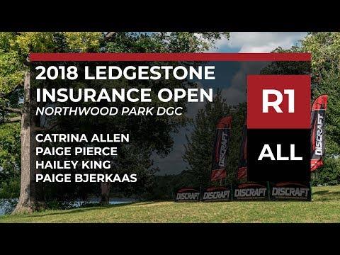 2018 Ledgestone Ins Open • Rnd 1 • Catrina Allen • Paige Pierce • Hailey King • Paige Bjerkaas