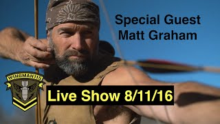 Live Show With Special Guest Matt Graham