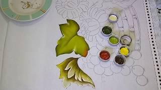 Roberto Ferreira – Novo Projeto – Folhas de Uva em Tecido