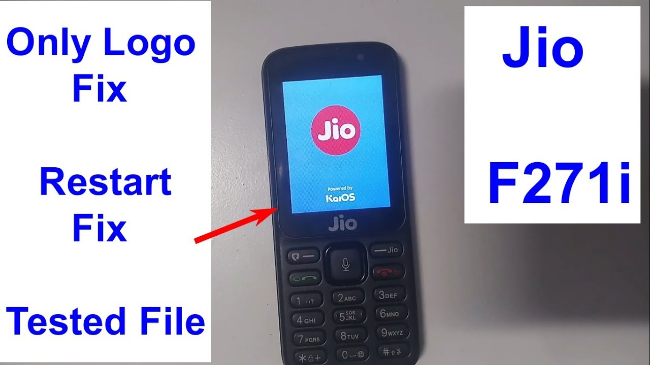 Relince Jio Lyf F271i Hang On Logo Solution Fix Flash File boot key